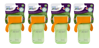 Philips Avent My First Big Kid Cup 360 degree, 12m+ 12 Oz Green SCF784/00 (4 Pk)