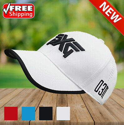 03176e0bb17f3 2018 New golf hat PXG cap Professional hat cotton golf ball cap High Quality