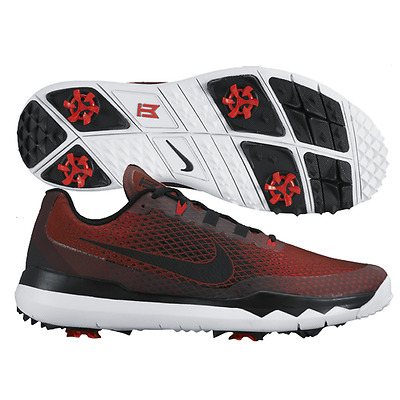 c98f9754026c Nike Tiger Woods TW  15 Ltd Edition Mens Golf Shoes 704884 NEW Red Blk