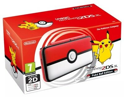 Nintendo New 2Ds Xl Pokeball Edition New In His Box