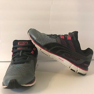 2a1d30dea673 Puma Faas 500 V3 Mens Grey Red Athletic Lace Up Performace Running Shoes Sz  US 7