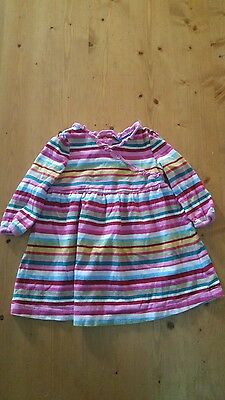 The childrens place girls striped top/dress size 6-9mths
