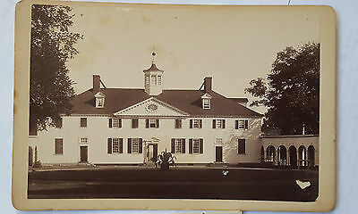 Cabinet DC Washington Mount Vernon Mansion Dillon Cabinet Card