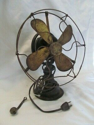 General Electric FAN W/BRASS BLADES & BRASS CAGE Parts Or Repair