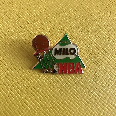 Pin's Nestle Milo Sport Basket Ball NBA - Vintage Enamel Pin