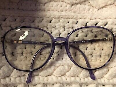 d43448b67a Tura Eyeglasses Frames mod. TL 307 Purple Large Square Vintage Rx  Prescription