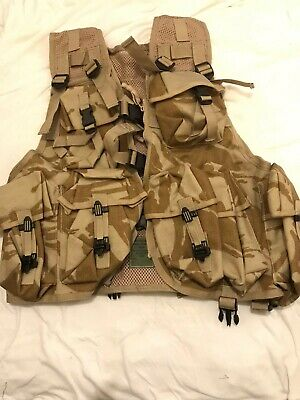 BRITISH ARMY DESERT DPM Utility Pouch Small NSN 8415-99-461-4935 NEW