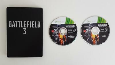 Battlefield 3 Steelbook Edition Xbox 360 Used SAME DAY FREE SHIPPING