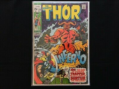 THOR #176 Lot of 1 Marvel Comic Book!