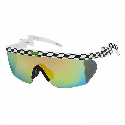 8486159941 Neff Men s Brodie Checker Shades Sunglasses Black White Beach Summer Skate  Snow