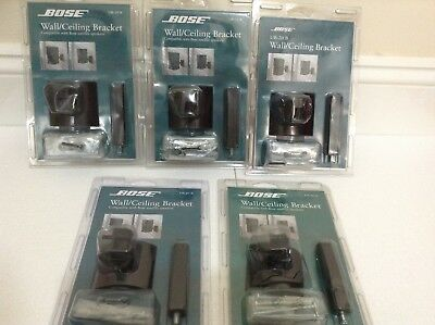 Bose 5x wall and ceiling brackets