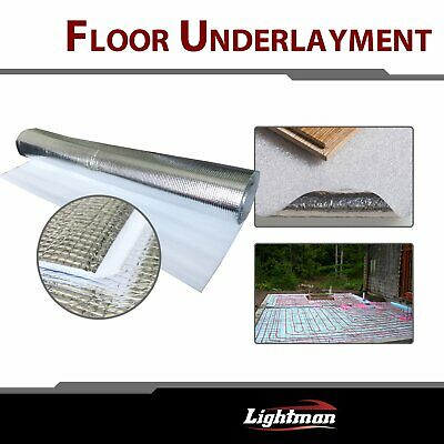 3mm 3-in-1 Soft Underlayment For Laminate Engineered Wood Floor Moisture Vinyl