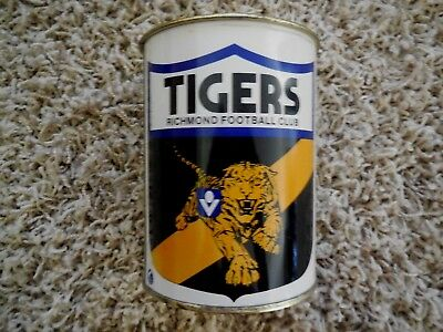RICHMOND TIGERS .. VFL .. RARE TIN STUBBY HOLDER WITH FOAM INSERT - 1970's - AFL