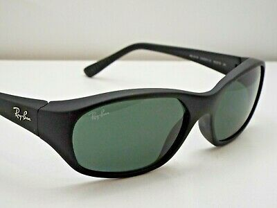 876e894430 Authentic Ray-Ban RB2016 DADDY-O W2578 Matte Black Green Classic Sunglasses