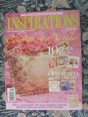 Inspirations Embroidery Magazine - Issue 50 - 2006 - Excellent Condition