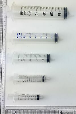 Luer Syringe - Size from 5ml, 10ml, 20ml, 30ml, 50ml
