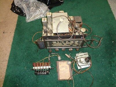 General Electric GE Vintage Tube Radio Console Model 417 Tuner Chassis & Pre-Amp