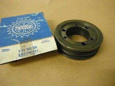 Martin 2 3V 365 Sh Pulley Two Groove For 3V Belt