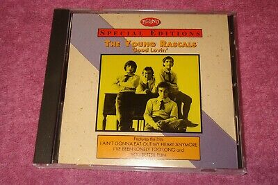 Good Lovin' by The Young Rascals (CD, Sep-1993, Rhino (Label) Like New
