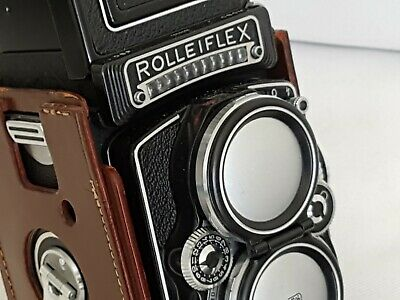 【TOP MINT In CASE】Rolleiflex 2.8E Xenotar 80mm/2.8 from Australia PERFECT GLASS