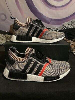 a14d479da ADIDAS NMD R1 W Talc Cream Tan S76007 Boost 350 Ultra Women s SZ 7-9 ...