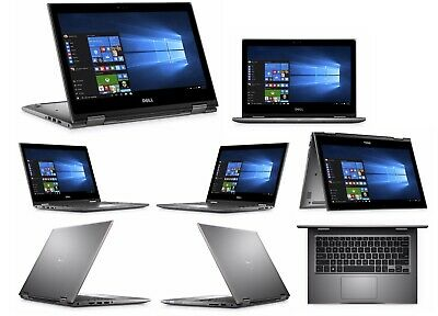 "Dell Inspiron 2-in-1 13.3"" HD Touchscreen i7 8th Gen 8GB RAM 256GB SSD Backlit"