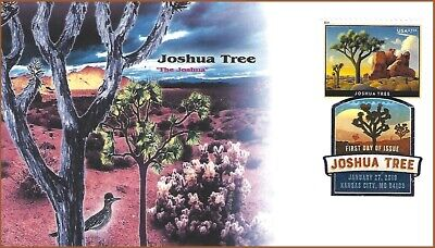 2019 Joshua Tree $7.35 Priority Mail FDC w/ Digital Color Postmark DCP