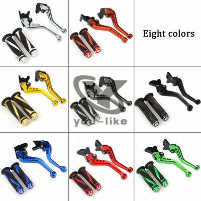 For BENELLI TNT 125 135 2016-2018 Brake&Clutch Levers Handle Grips 2016 2017 18