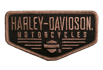 Harley Davidson Renowned Bar and Shield B&S Biker Patch [ 4 Inch Iron/Sew On ]