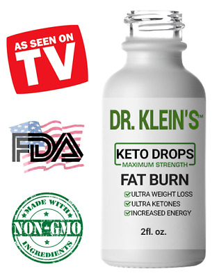 BUY 2 GET 1 FREE - KETO DROPS - #1 Weight Loss - Fat Burner + Carb Blocker