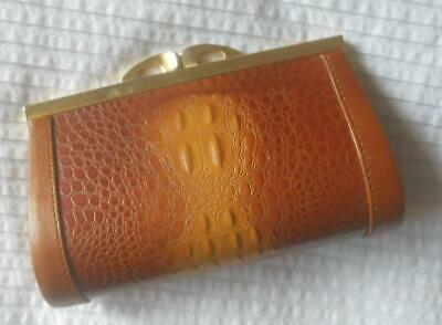 Unused Alligator Or Crocodile Leather Coin Purse