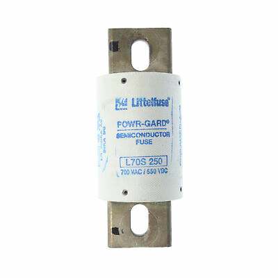 Littelfuse L70S-250 Powr-Gard High Speed Fuse, 700Vac, 650Vdc, 250A
