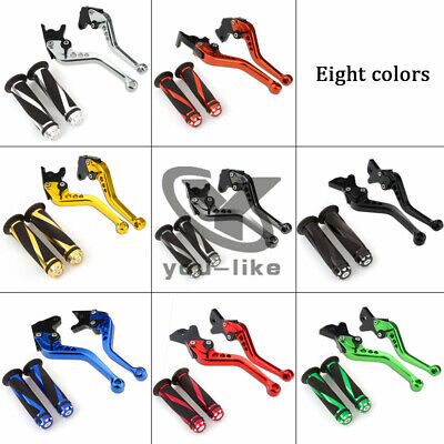 For Yamaha MT-125(US) 2014-2015 Brake&Clutch Levers Handle Grips YZF R125 14-16