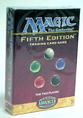 5th Edition Two-Player Starter Set (ENGLISH) SEALED BRAND NEW MAGIC MTG ABUGames