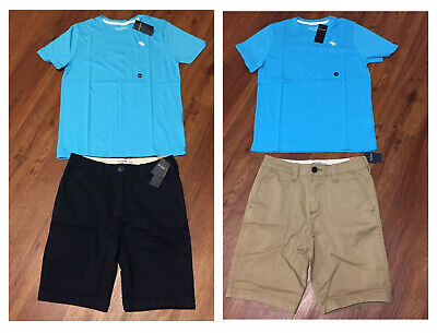NWT Boys Abercrombie & Fitch Kids Summer Outfit Shorts Shirt