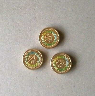 BULK LOT 3 x 2018 COMMONWEALTH GAMES, GOLD COAST $2 DOLLAR GREEN COINS, UNC.