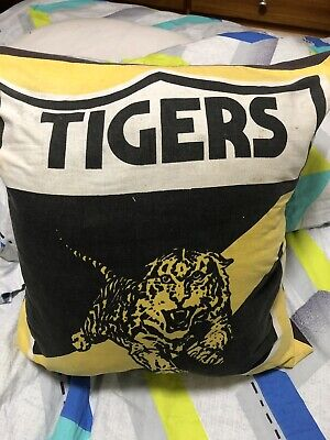 Vintage Vfl Afl richmond tigers memorabilia Jumper Pillow Cushion