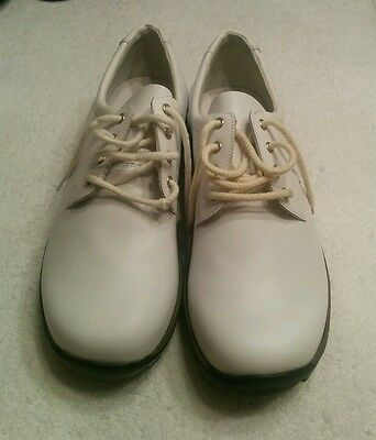 MENS WALDLAUFER LUFTPOLSTER shoes Size 10 Barely Used White -  59.77 ... fa544e85b885