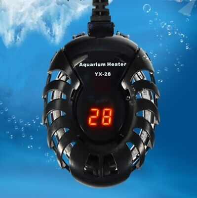 LED Aquarium Digital Electric Heating Rod Submersible Water Heater Thermostat