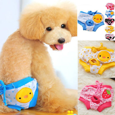 Pet Clothes Washable Female Dog Diapers Underwear Pants Physiological Sanitary