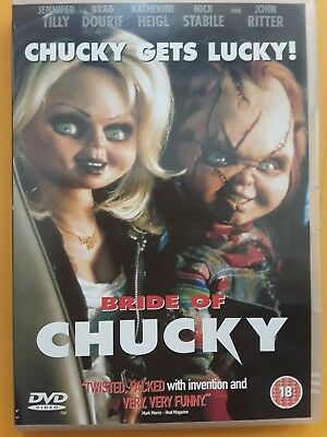 Bride of Chucky - Region 2 DVD
