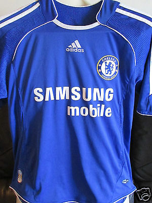 "Chelsea FC Home Shirt - 2006-08 - Size 28""-30"" - Lampard 8 on back"