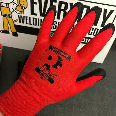Pred Sensor PolyMax™ Palm Coated Work Gloves - (Touchsafe) - PACK OF 10