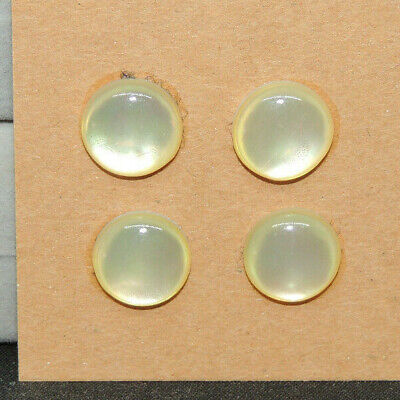 2384 Mother of Pearl 6mm set of 10 cabochons with 3-3.5mm dome