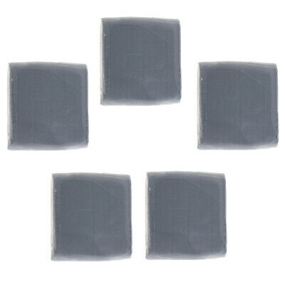 Kneaded Rubber Art Eraser - Pencil Pastel - Extra Large - 5 Pack 40x40x10mm