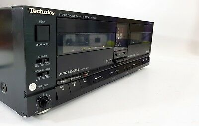 Technics RS-X950 Double Cassette Deck, Dolby B & C, See Notes - FREE UK DELIVERY