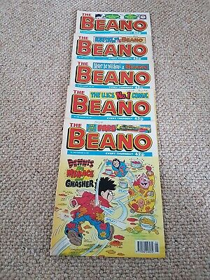 The Beano Bundle 2842 - 2846