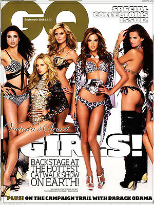 Gq Magazine Victoria's Secret Special Collectors Issue - Brand New  Free Uk Post