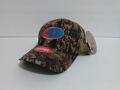 NEW MOSSY OAK Slouch Hat Cap Camo Adjustable Strap Camouflage Pink ... 637594748eae