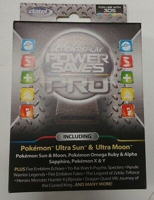 Datel: Action Replay Power Saves pro [Nintendo 3DS 2ds XL,Speichert Cheats Codes